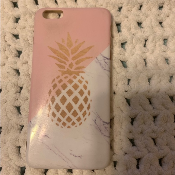 pink marble phone case!!